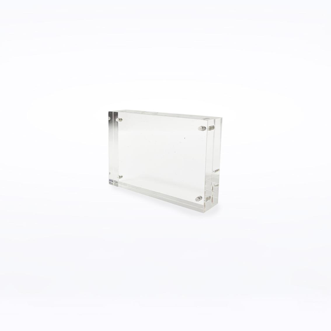 Crystal Block - 45mm x 64mm x 15mm