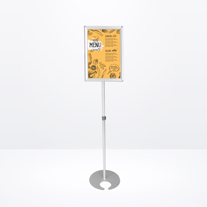 Boni Ball Sign Stand with Snap Frame