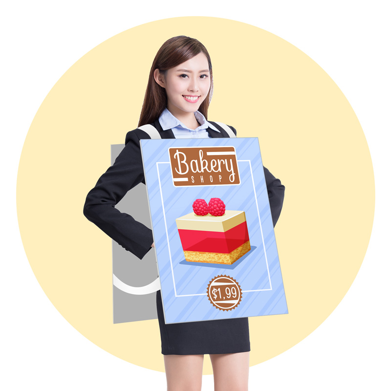 Wearable Sandwich Board