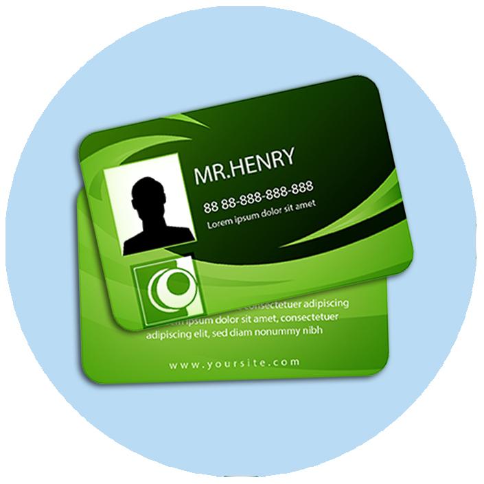 Membership Card (54mm x 85mm)