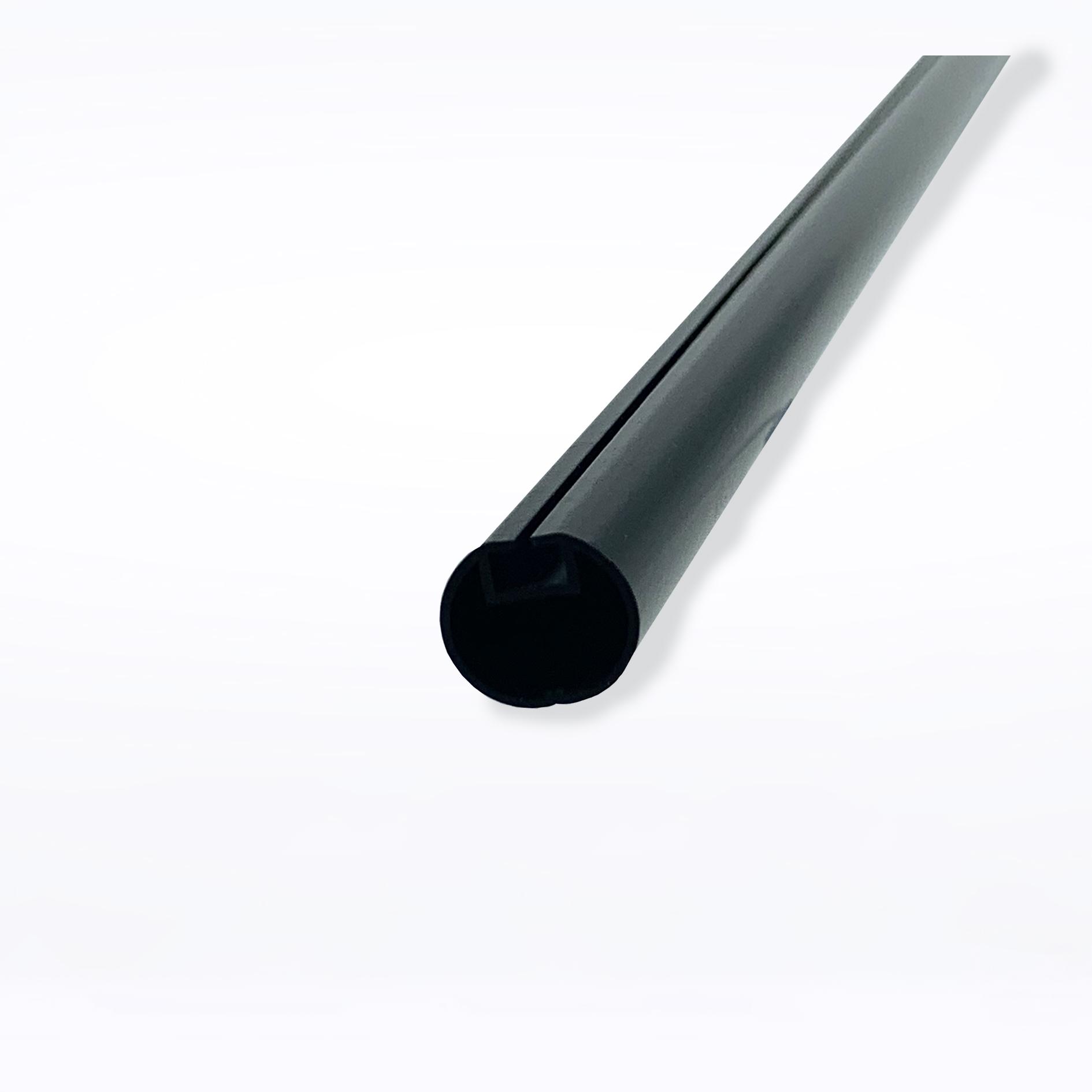 Round Profile 16.5mm Diameter x 2.57m - Black
