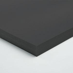 Black Foam Board 5mm Thick x 1220mm x 2660mm - Black