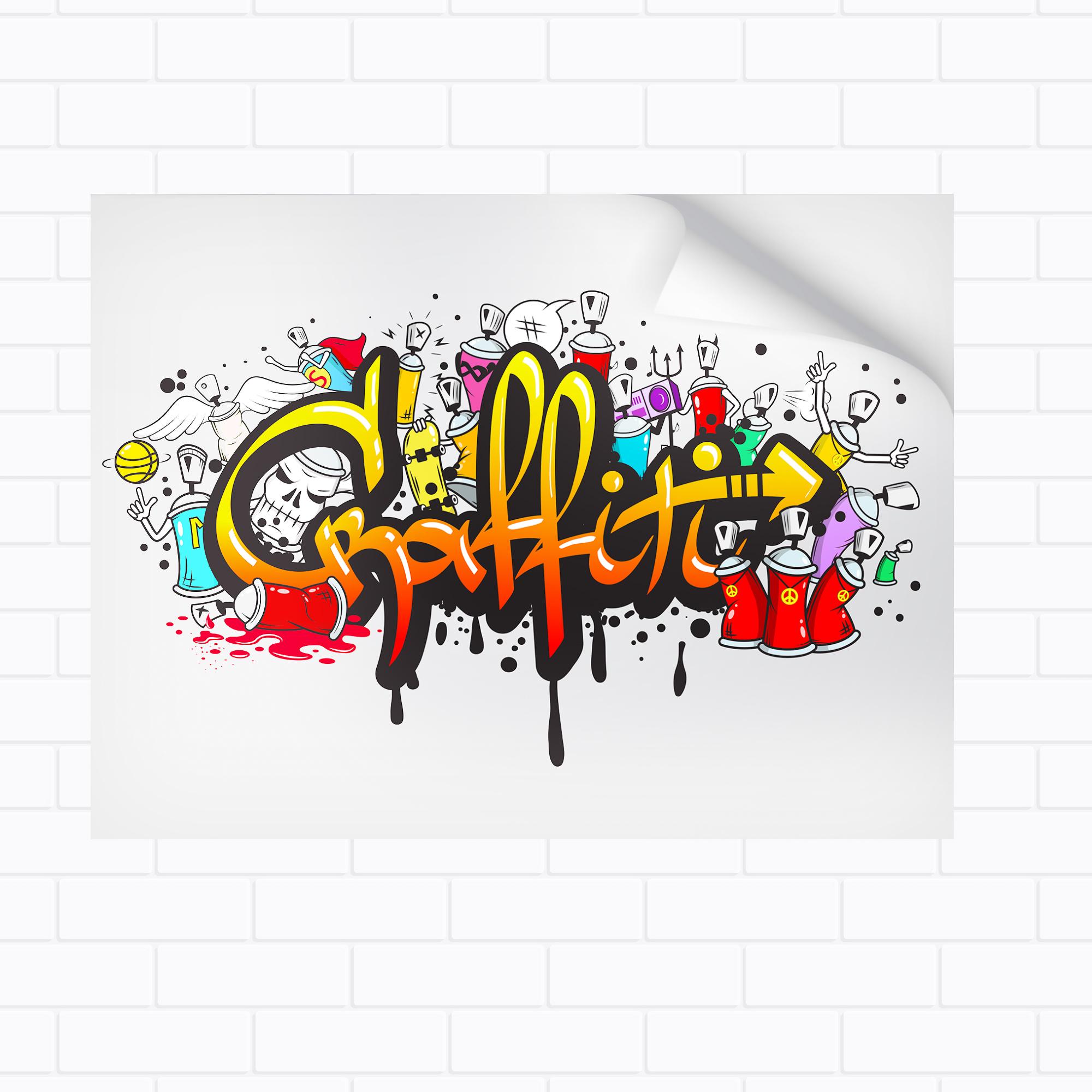 Wall Mural / Hoarding Sticker