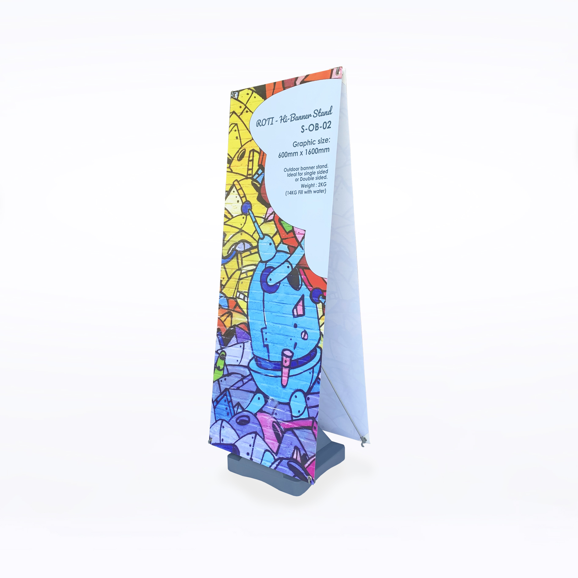 Double Sided - 600mm x 1800mm