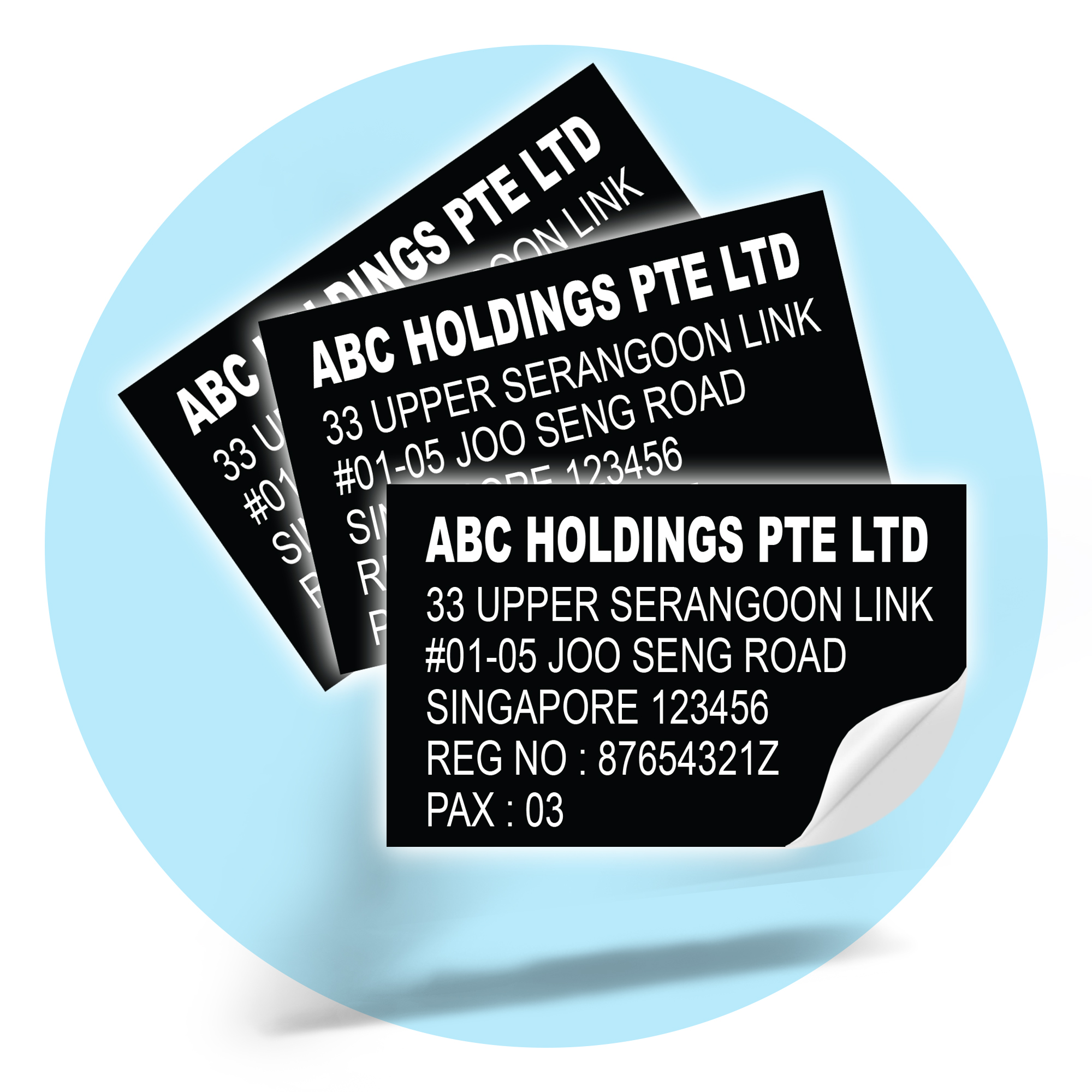 Commercial Vehicle Sticker