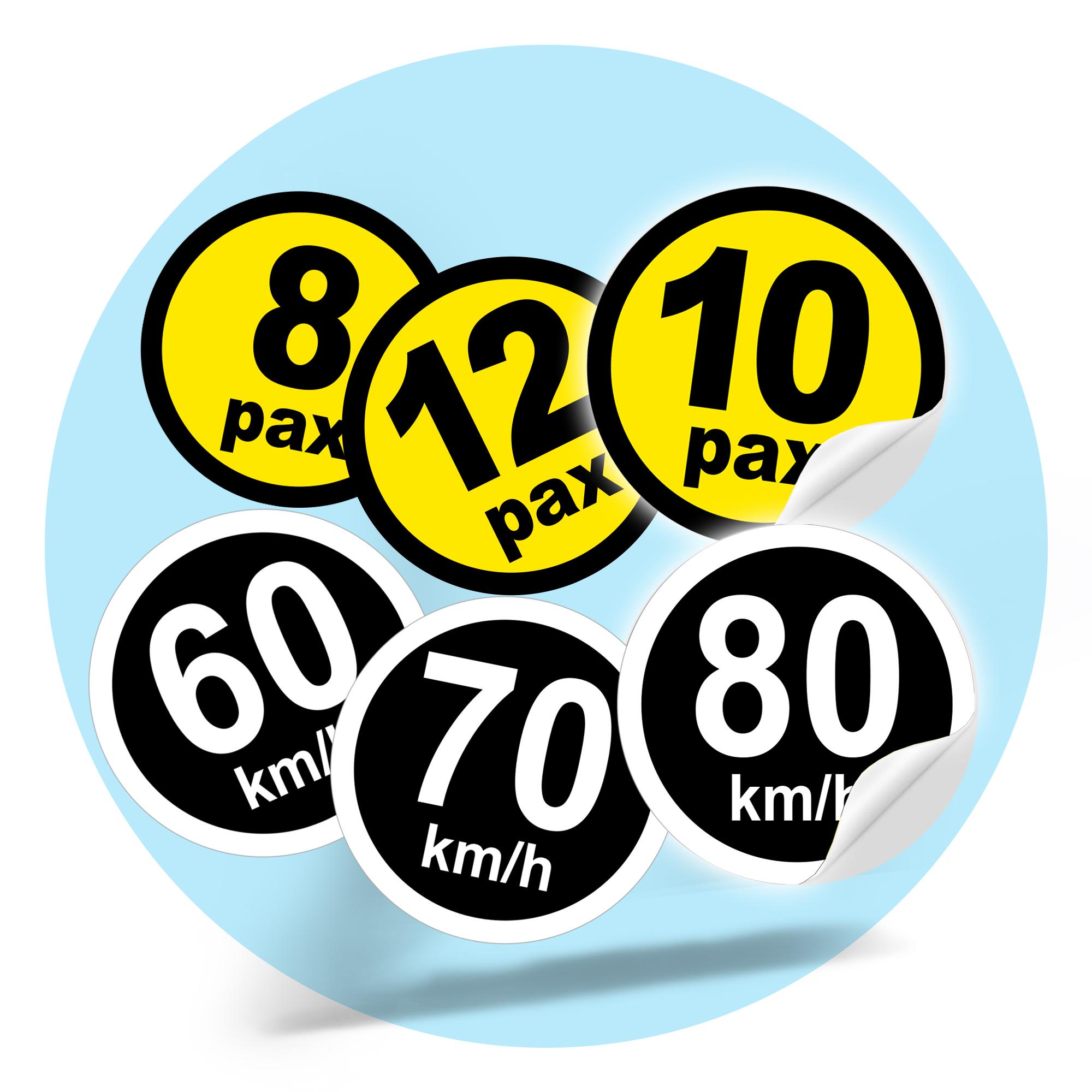 Vehicle Label Sticker (15cm)