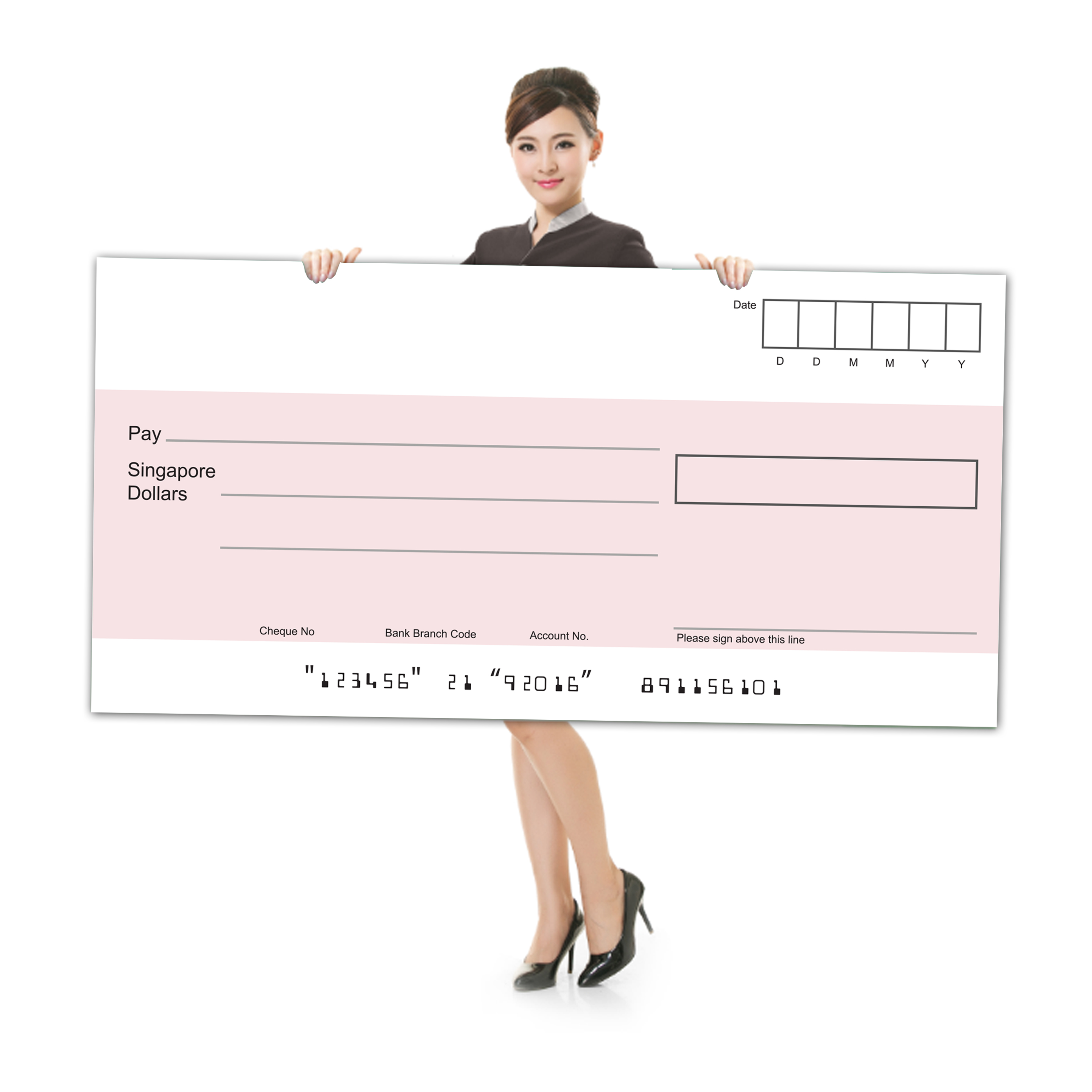 Big Mockup Cheque