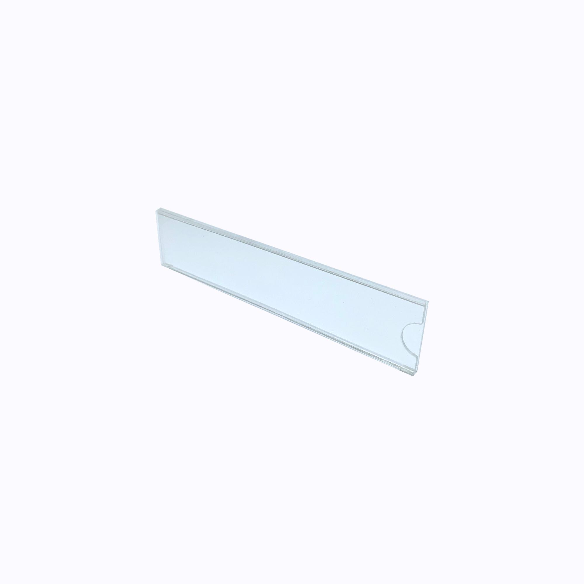 Acrylic Pocket Wall Frame - 40mm x 200mm