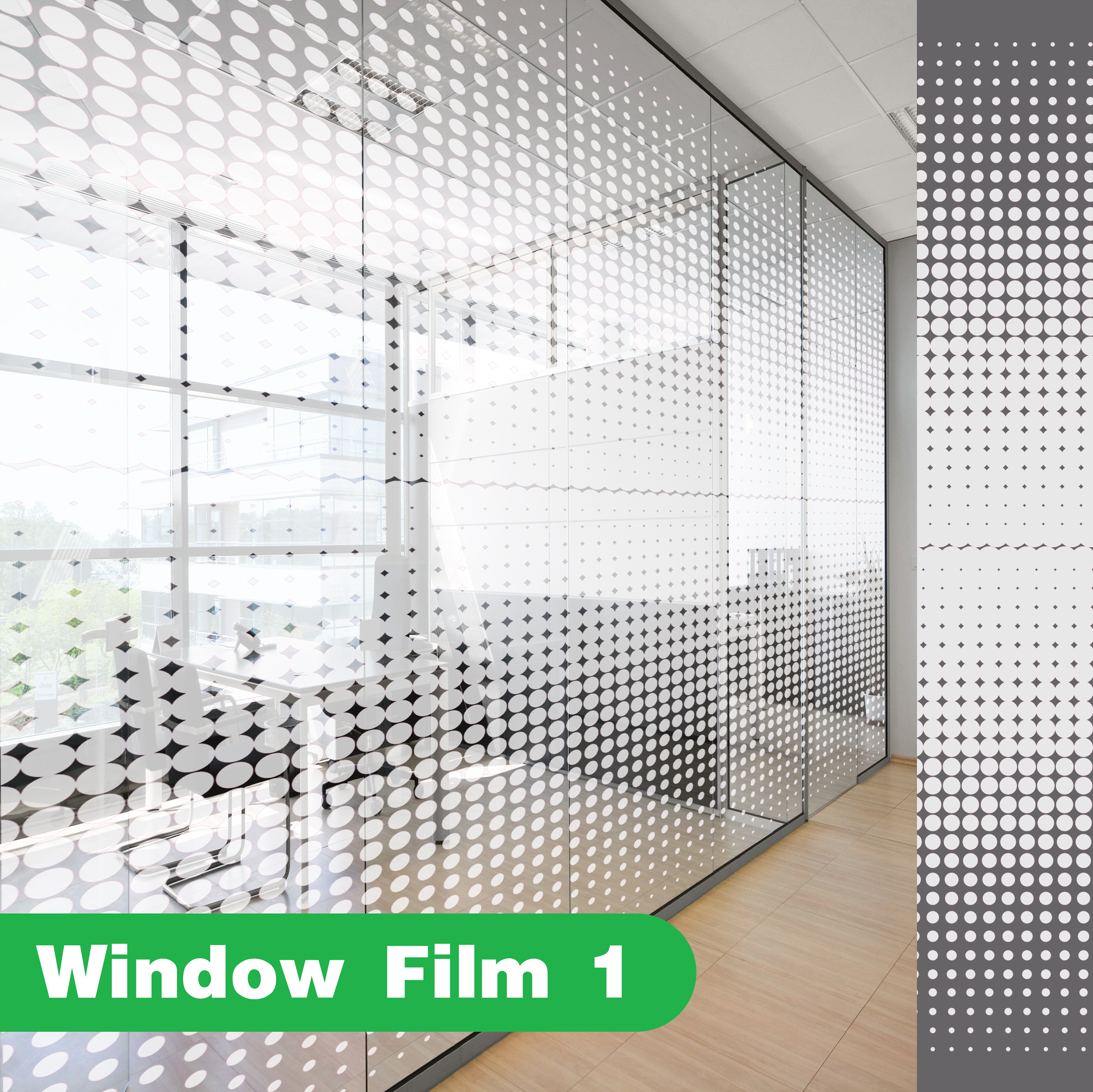 Ready Window Decor Frosted Film