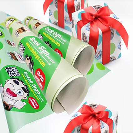 Giant Size Gift Wrapping Paper
